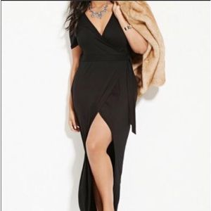 Forever 21 Plus Size Tulip Hem Wrap Dress  3x